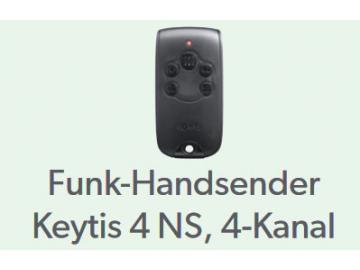 Funk-Handsender Keytis 4NS, 4 Kanal