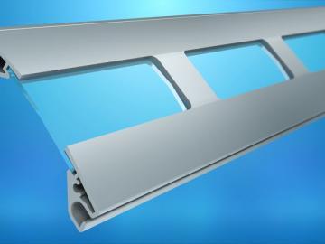 Sicht-Lüftungslamellen für 77er  Rolltorprofil