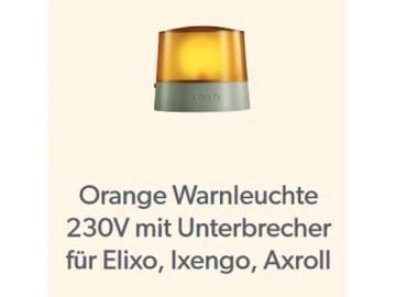 Warnleuchte Orange für Rolltore