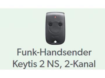 Funk-Handsender Keytis 2 NS, 2 Kanal