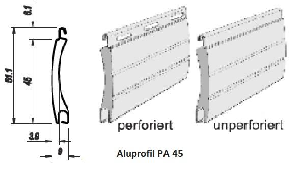 Rollladenlamellen PA45