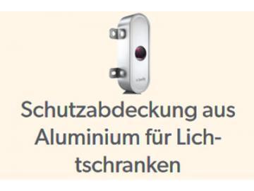Alu Abdeckungen für Lichtschranken-Set