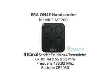 ERA ON4E Handsender 4 Kanal