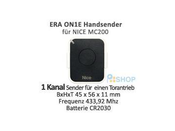 ERA ON1E Handsender 1 Kanal