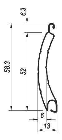 Rolltor PA-52 auf Maß gefertigt