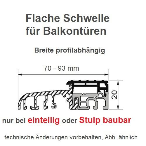 2 fl gel balkontuer wei wei standard 7000. Black Bedroom Furniture Sets. Home Design Ideas